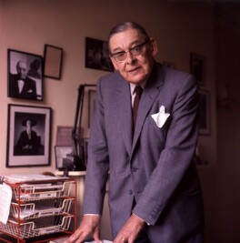 T.S. Eliot, by Ida Kar - NPG x125028