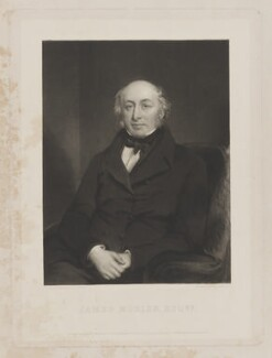 James Justinian Morier, by Samuel William Reynolds, published by  Paul and Dominic Colnaghi & Co, after  Sir William Boxall - NPG D11186