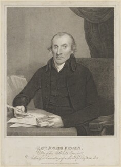 Joseph Benson, by Thomas Blood, after  John Jackson - NPG D11199