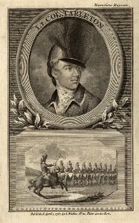 Sir Banastre Tarleton, Bt, after Unknown artist - NPG D11217