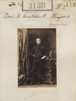 Edward Hugessen Knatchbull-Hugessen, 1st Baron Brabourne, by Camille Silvy - NPG Ax52538