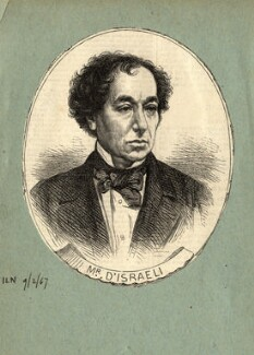 Benjamin Disraeli, Earl of Beaconsfield, published by Illustrated London News - NPG D11225