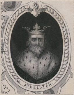 King Athelstan (Aethelstan), after Unknown artist, late 18th-early 19th century - NPG D11226 - © National Portrait Gallery, London