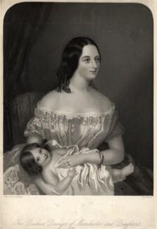 Harriet Sydney Montagu (née Dobbs), Duchess of Manchester, by William Henry Mote, after  Elish Lamont - NPG D10934