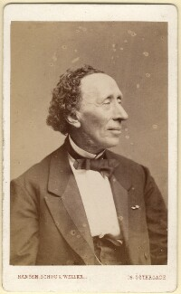 Hans Christian Andersen, by Hansen, Schou & Weller, 1869 - NPG x5791 - © National Portrait Gallery, London