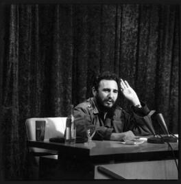 Fidel Castro, by Ida Kar, 1964 - NPG  - © National Portrait Gallery, London
