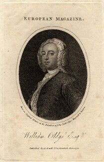 William Oldys, by Balston, published by  John Sewell - NPG D11233