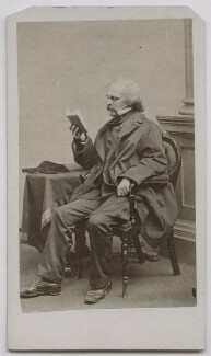 Nathaniel Hawthorne, by James Wallace ('J.W.') Black - NPG Ax7532