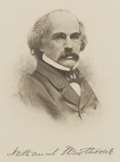 Nathaniel Hawthorne, by Unknown photographer - NPG Ax29924