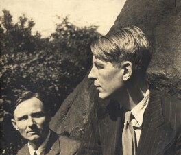 Christopher Isherwood; W.H. Auden, by Louise Dahl-Wolfe - NPG x15195