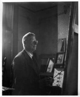 L.S. Lowry, by Tom Truefitt, July 1959 - NPG x30568 - © Tom Truefitt