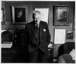 L.S. Lowry, by Roger Birch - NPG x7943