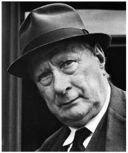 L.S. Lowry, by Sefton Samuels, 1968 - NPG x15782 - © Sefton Samuels / National Portrait Gallery, London