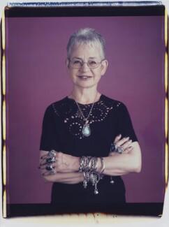 Dame Jacqueline Wilson (née Aitken), by Maud Sulter, 2001 - NPG P949(6) - © National Portrait Gallery, London