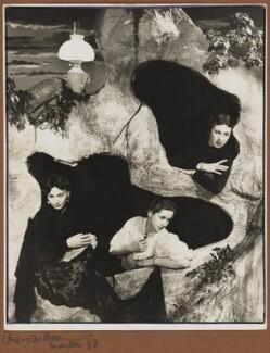 Carol Goodner; Dame Peggy Ashcroft; Dame Gwen Lucy Ffrangcon-Davies, by Angus McBean - NPG P928