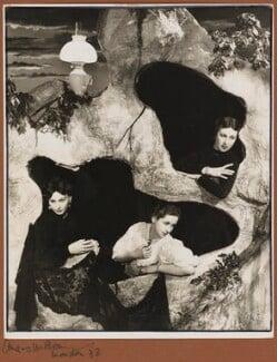 Carol Goodner; Dame Peggy Ashcroft; Gwen Ffrangcon-Davies, by Angus McBean - NPG P928