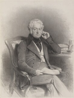 Richard Bentley, by Charles Baugniet - NPG D11247