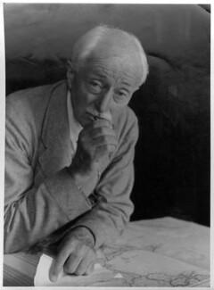 John Masefield, by Howard Coster - NPG x10145