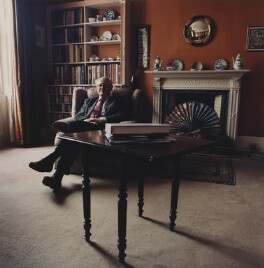 Martin Richard Fletcher Butlin, by Lucy Anne Dickens, March 2001 - NPG  - © Lucy Dickens / National Portrait Gallery, London