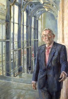 John Davan Sainsbury, Baron Sainsbury of Preston Candover, by Daphne Todd - NPG 6590