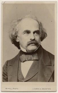 Nathaniel Hawthorne, by John Jabez Edwin Mayall - NPG Ax18333