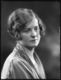 Hon. Elizabeth Susan Varley (née Douglas-Scott-Montagu), by Bassano Ltd - NPG x120002