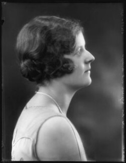 Hon. Elizabeth Susan Varley (née Douglas-Scott-Montagu), by Bassano Ltd - NPG x120003