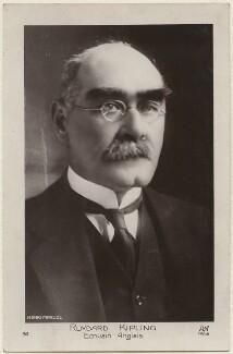 Rudyard Kipling, by Henri Manuel - NPG x11811