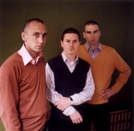 'Fuel' (Peter Miles; Stephen Sorrell; Damon Lin Murray), by Ben Murphy - NPG x125081