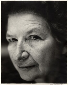 P.D. James, by David Harrison - NPG x76442