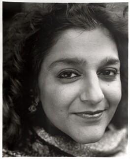 Meera Syal, by David Harrison, 26 July 1997 - NPG x87582 - © David Harrison