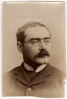 Rudyard Kipling, by Francis Henry Hart, for  Elliott & Fry - NPG x11810