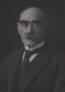 Rudyard Kipling, by Walter Stoneman, 1924 - NPG x11899 - © National Portrait Gallery, London