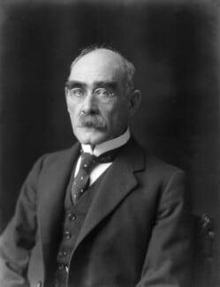 Rudyard Kipling, by Walter Stoneman, 1924 - NPG x74736 - © National Portrait Gallery, London