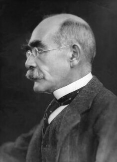 Rudyard Kipling, by Elliott & Fry, 1924 - NPG x81809 - © National Portrait Gallery, London