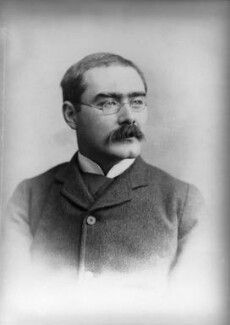 Rudyard Kipling, by Francis Henry Hart, for  Elliott & Fry, 1893 - NPG x81808 - © National Portrait Gallery, London