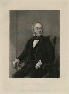 Samuel Wilderspin, by George Thomas Payne, after  John Rogers Herbert - NPG D11259