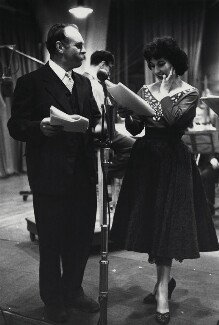 Jimmy Edwards; Alma Cogan, by Herbert K. Nolan - NPG x24191