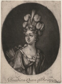 Fictitious portrait called Boudicca (Boadicea), probably by Bernard Lens (II) - NPG D11265