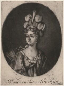 Fictitious portrait called Boudicca (Boadicea), probably by Bernard Lens (II) - NPG D11265