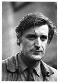 Ted Hughes, by Fay Godwin, 1971 - NPG x12936 - © estate of Fay Godwin / British Library / National Portrait Gallery, London