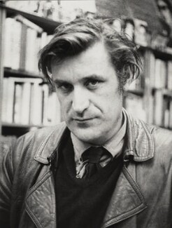Ted Hughes, by (John) Edward McKenzie Lucie-Smith, May 1970 - NPG x18665 - © Edward Lucie-Smith / National Portrait Gallery, London