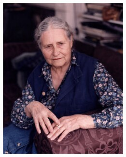Doris Lessing, by Ben Murphy - NPG x88071