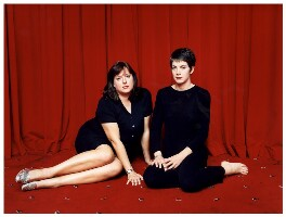 Julie Burchill; Charlotte Raven, by Polly Borland - NPG x87274