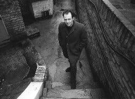 Frank Auerbach, by Bob Collins - NPG x34122