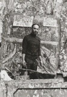 Leon Kossoff, by Bob Collins, 1972 - NPG x34130 - © estate of Bob Collins / National Portrait Gallery, London
