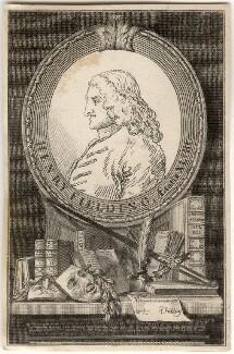 Henry Fielding, after William Hogarth - NPG D11271