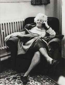 Dame Margaret Rutherford, by Bob Collins - NPG x35155