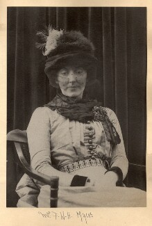 Eveleen Myers (née Tennant), probably by Cyril Flower, 1st Baron Battersea - NPG Ax68607