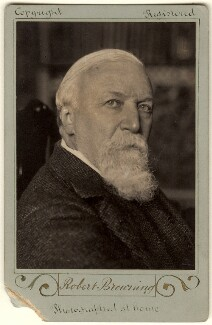 Robert Browning, by William Henry Grove - NPG x4820